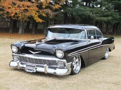 1956 chevrolet bel-air, coupe