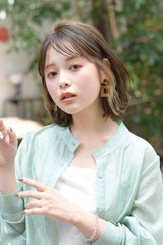 Korean Hair Color, Cabello Hair, Japanese Hairstyle, About Hair, Fashion Books, Skin Makeup, Hair Inspo, Medium Hair Styles, Hair Care