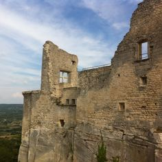 Château Luberon Provence France - This is actually Château de Lacoste in Lacoste, Marquis de Sade's old place.  #IveBeenHere