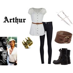 """Arthur"" by ohblainers on Polyvore"