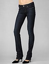 Paige USA, Skyline Straight jeans.  Just bought these. Comfortable, mid rise, soft stretchy jean. I recommend them, I think they would look good on most figures.