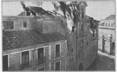Murcia, cONVENTO sAN fRANCISCO junto verónicas attack by socialist and communist militants on May 12nd, 1931. junto Verónicas