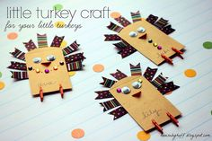 Little Turkey Craft