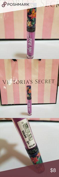 Victoria's Secret Color Shine Escape Lip Gloss NWT Victoria's Secret Color Shine Escape Lip Gloss NWT. Brand new, sealed. Victoria's Secret Makeup Lip Balm & Gloss