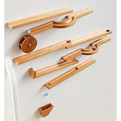 Marble Run Woodworking Plan, Toys & Kids Furniture