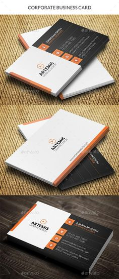 Clean business card template corporate business card templates business card etiquette dictates that you should always carry your business card anywhere that you think there is even a small chance that you will be asked reheart Images