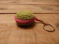 Macaron au crochet - Tuto