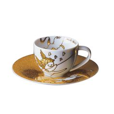 Rosenthal-andy-warhol-golden-angels-espresso-cup-and-saucer-fanfare.