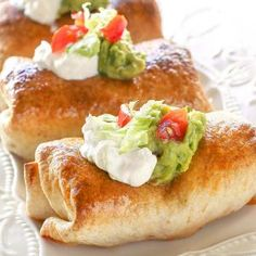 Baked Chicken Chimichangas Chimichanga Mexican Recipe