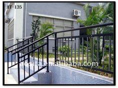exterior metal railing