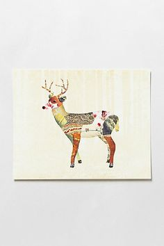 Enchanted Forest Print #anthropologie