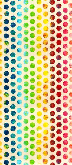 equilter.com. Lots of circles, rainbow style
