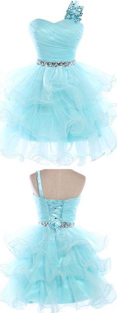 Short Prom Dresses, Blue Prom Dresses, Sexy Prom dresses, Prom Dresses Short, Princess Prom Dresses, Short Homecoming Dresses, Prom Dresses Blue, Blue Homecoming Dresses, Princess Homecoming Dresses, Sleeveless Prom Dresses