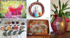 Decorazioni primaverili e pasquali handmade – fiorire di lavoretti creativi