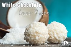 White Chocolate Coco-Roons