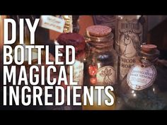 DIY Magic Potion    Tame Cold & Flu Season with this Werewolf Antidote!    The Magic Crafter - YouTube