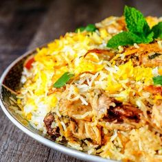 Indian Chicken Recipes, Indian Food Recipes, Asian Recipes, Vegetarian Recipes, Cooking Recipes, Chicken Biryani Recipe Video, Biryani Chicken, Hyderabadi Biryani Recipe Chicken, Appetizer Recipes