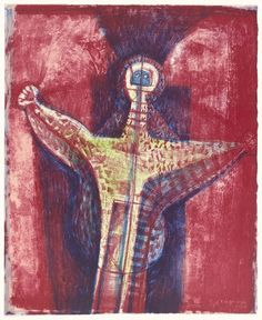 Rufino Tamayo. Ghost. 1964