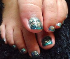 Day 112: Earth Day Toenail Art - - NAILS Magazine