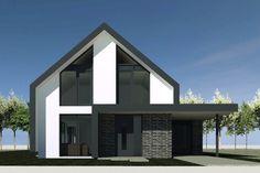 Nieuwbouw van een moderne schuurwoning in Aalsmeer