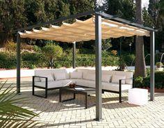 Pérgola de jardín Marbella en Ámbar Muebles