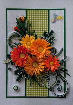 neli: Quilling cards /14.8 cm- 10.5 cm/