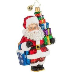 Presents to Go Ornament by Christopher Radko Christopher…