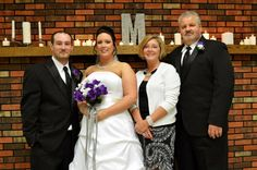 Brian's and me with my dad and step mom