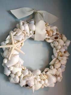 How lovely is this d.i.y. project? On a mission to bring home a few more shells my next trip to the coast.