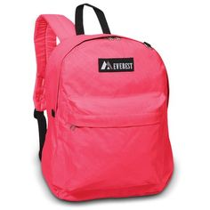 3c71158a5a Classic Backpack Dimension13 x 16.5 x 6.5 in Hot Pink School Backpacks