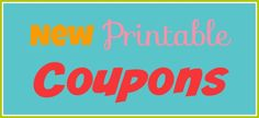 New #Coupons for Hol