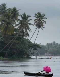 Alleppey in showers, #Kerala