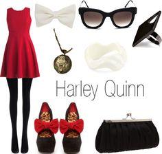 """Harley Quinn outfit #batman #dc comics"