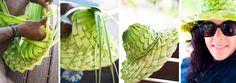 Fijian Coconut Palm Hat!