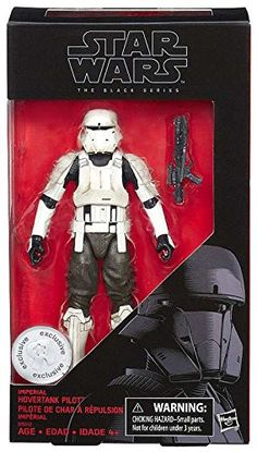 Star Wars: Rogue One, The Black Series, Imperial Hovertank Pilot Action Figure, 6 Inches Star Wars Set, Star Wars Toys, Star Trek, Star Troopers, Cara Dune, Grand Admiral Thrawn, Princess Leia Slave, Knights Of Ren, Big Battle