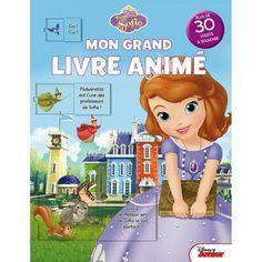 Mon grand livre animé Disney Princesse Sofia