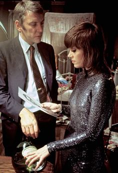 Jane Fonda & Donald Sutherland in Klute (1971)