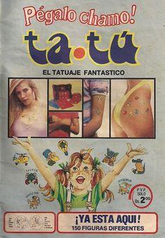 El Tatuaje Ta Tu: Recuerdos de los ochentas - Cuando era Chamo - Recuerdos de Venezuela