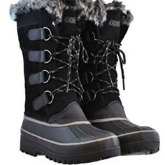024f215e4a41 NEW - Khombu Women s Lindsey All Weather Snow Winter Boots Suede PK SIZE    COLOR