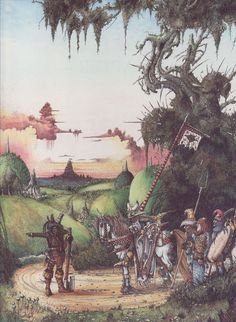 The Prince and the Woodcutter by John Blanche