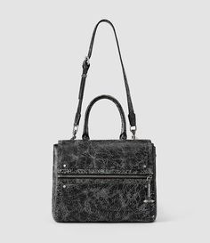 Women's Dace Bag Crackle (Black Crackle) - product_image_alt_text_3