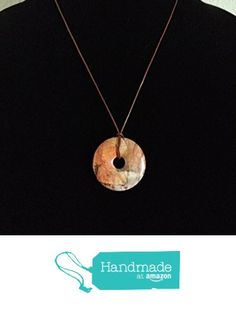 Beautiful Red Creek Jasper Pendant on Leather Cord from Red Creek Spirit Jewelry http://www.amazon.com/dp/B015QET1EU/ref=hnd_sw_r_pi_dp_LqBgwb0V2Q6FJ #handmadeatamazon