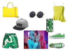 """""""Whatever I want"""" by kaylia-ashley on Polyvore featuring Chalayan, Dolce&Gabbana, Converse, Vans and me"""
