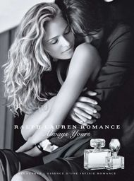 2009 Ralph Lauren Romance Always Yours ad photographed by Bruce Weber