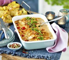 Great Recipes, Dinner Recipes, Swedish Recipes, Meat Chickens, Food Inspiration, Macaroni And Cheese, Chicken Recipes, Food And Drink, Cooking Recipes
