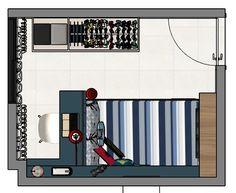Quarto de menino - Projeto autoral Dormitório de menino - designer de Interiores Carla Magrini #interiores #quartodemenino #quartodeadolescentemente #dormitório  #decor #decoração #designdeinteriores #interiordesign #carlamagriniinteriores