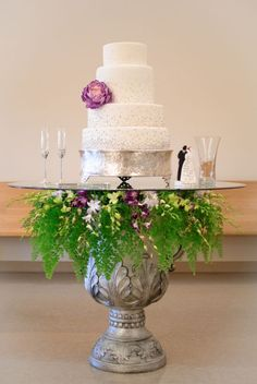 Tropical Wedding. love the simplicity