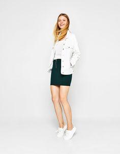 Bershka Ireland - Tailored skirt with zip