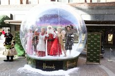 The Snow Globe - Dressing Up Box Photography