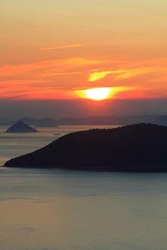 ✯ Sunset of Takamatsu - Kagawa, Japan